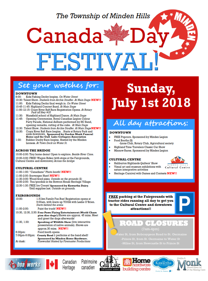 Canada Day 2018 - Information Poster